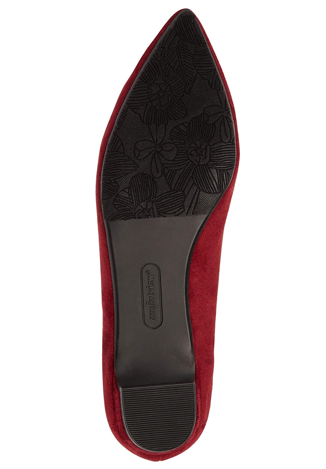 Comfortview Womens Plus Size The Nellie Flat