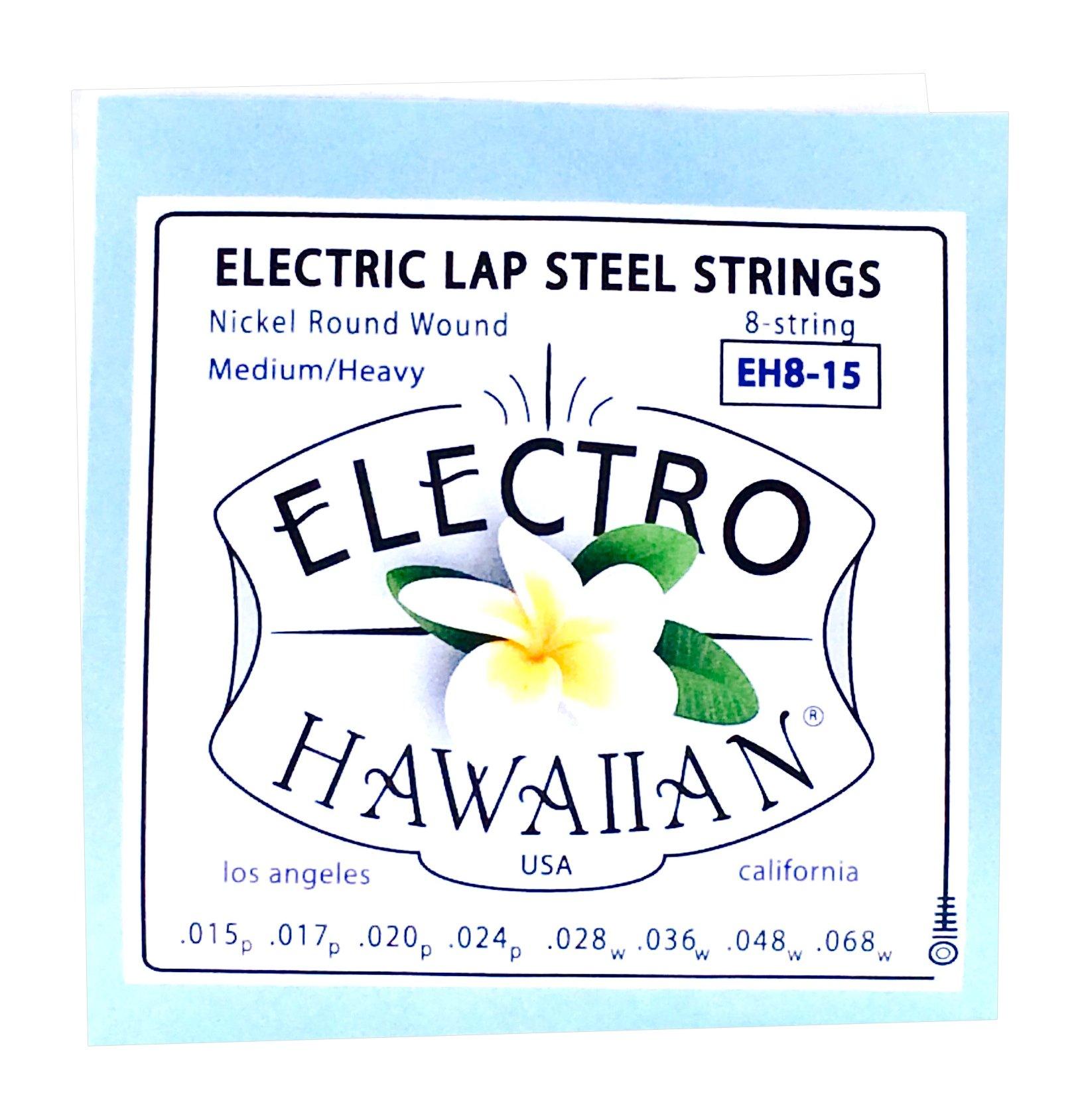 Asher Electro Hawaiian Lap Steel Strings Single Set for 8-String by Asher Electro Hawaiian Lap Steel Strings
