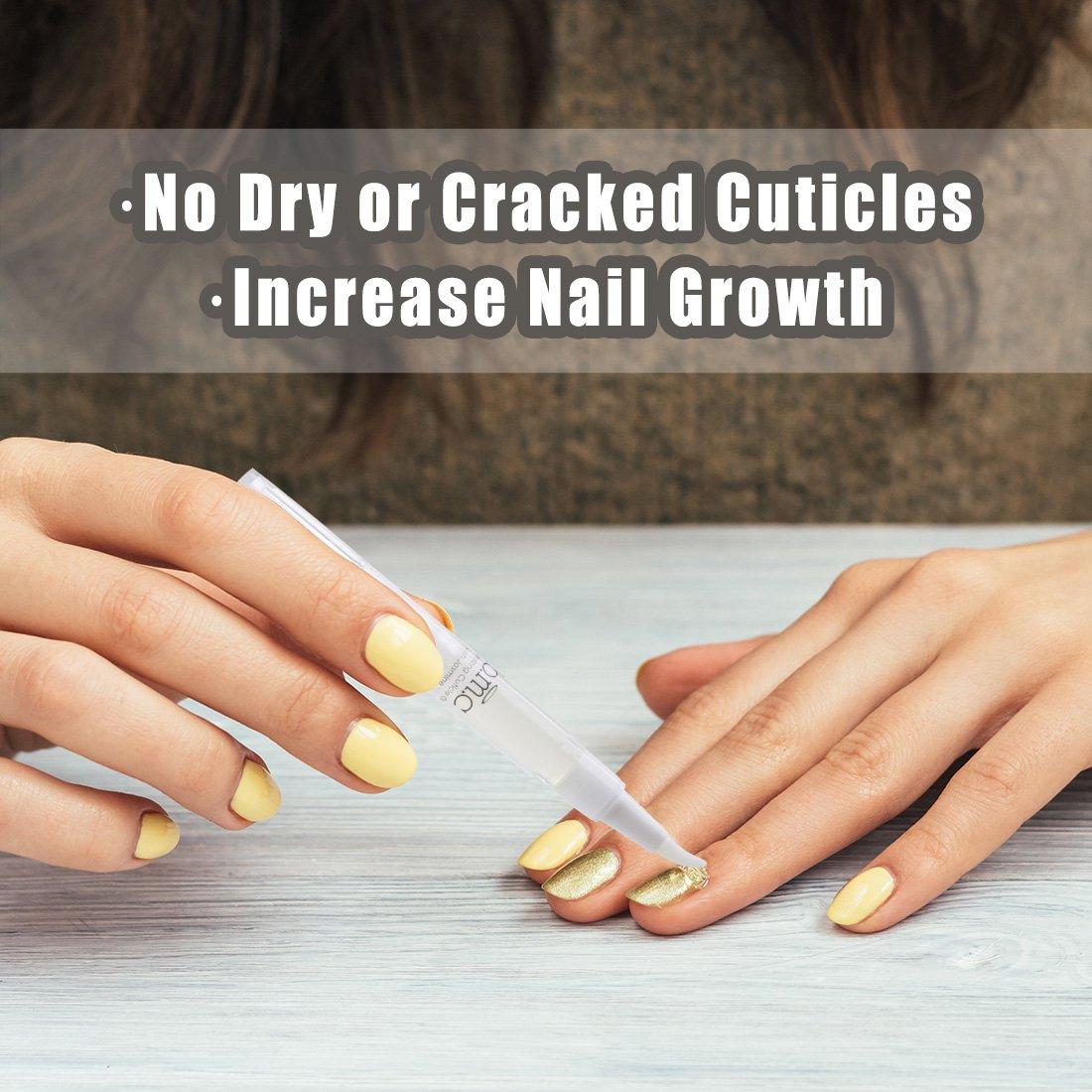 Amazon.com : BMC 5pc Revitalizing Nail and Cuticles Oil Pens Brush ...