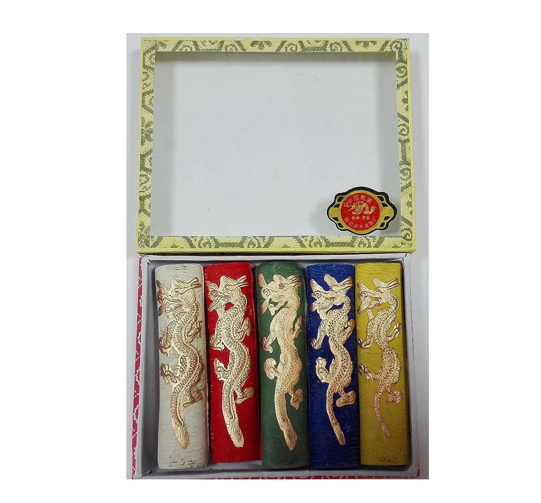 Set di 5bastoncini di colori di inchiostro China per disegno piuma pittura 4625 ONOGAL