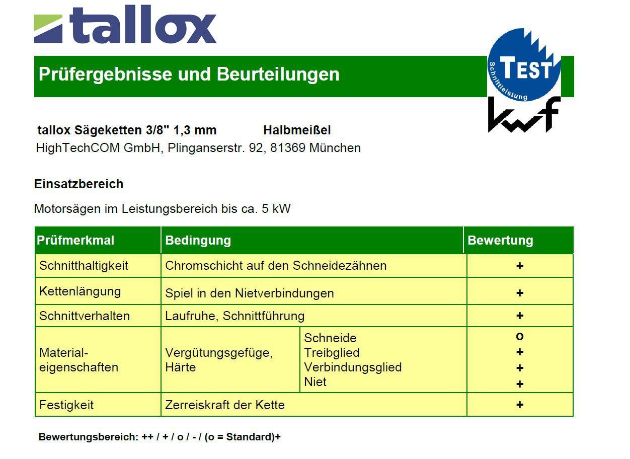 3 tallox Cha/înes de tron/çonneuses 3//8 1,3 mm 39 maillons longueur de guide-cha/îne 25 cm compatible avec Black /& Decker