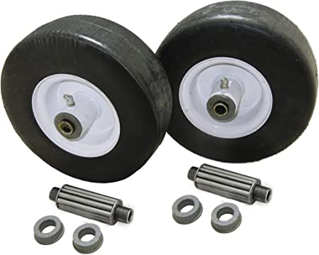 9x3.50-4 Flat Free Tire Assemblies Fits GRAVELY 45205 Set of 2