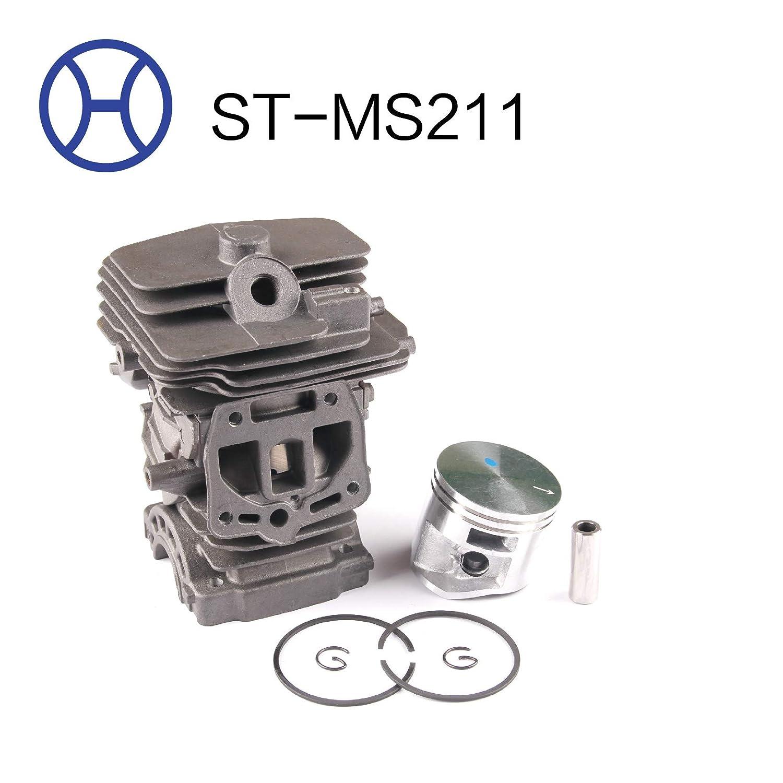 Amazon.com: Hairun STIHL MS211 - Kit de pistón cilíndrico ...