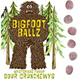 Bigfoot Ballz Sour Candy - Crunchewy Balls - MADE IN THE USA - Best Funny Adult Men's Gag Gift Stocking Stuffer