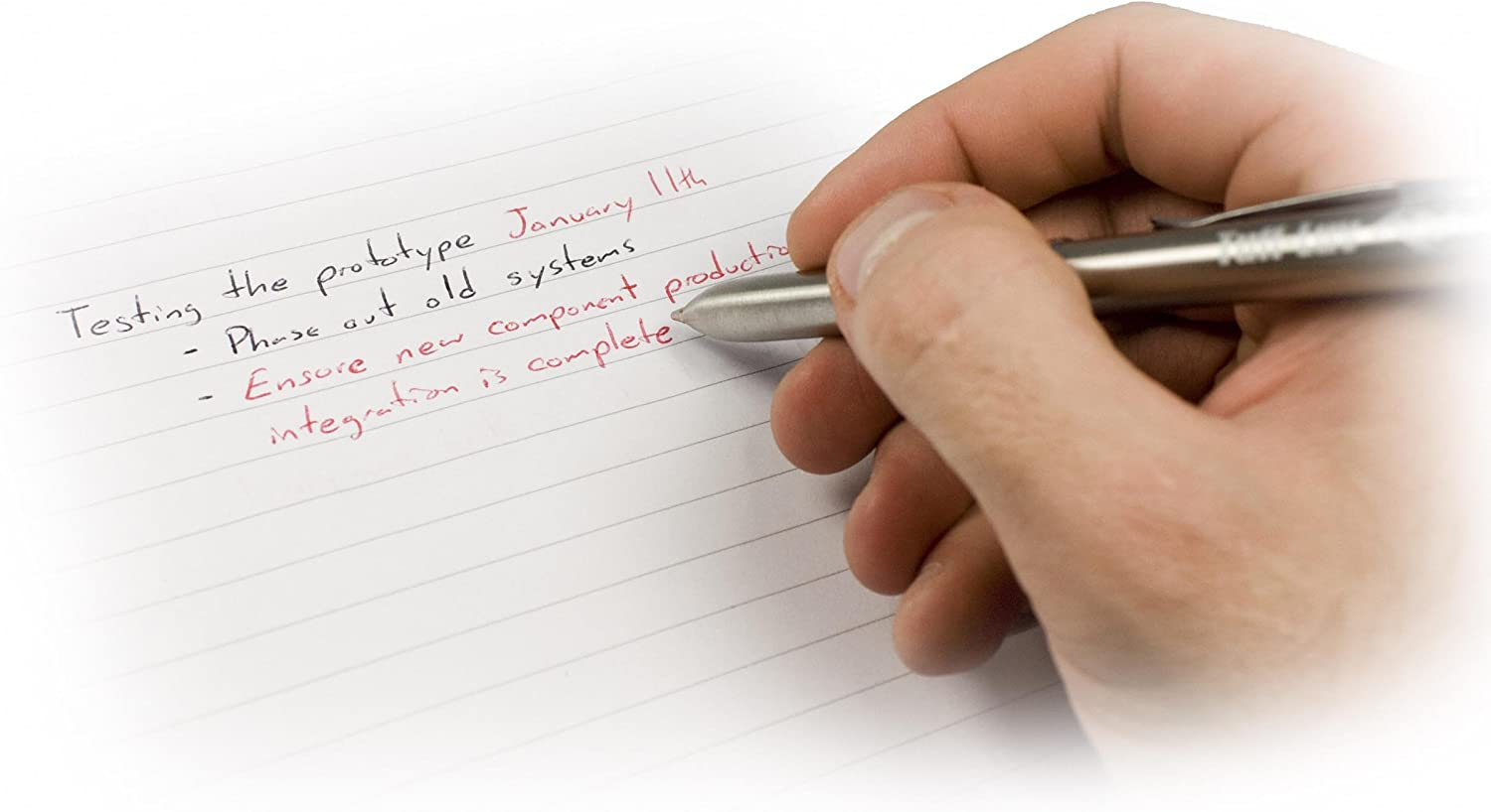 Tuff-Luv Scribe Stylus Touchpen for Touchscreen Devices Includes Black /& Red Ink