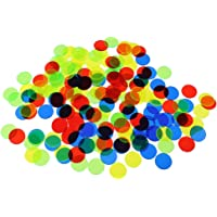 SM SunniMix 500 Piece Bingo Chips Markers 3//4 Inch Board Game Counter for Party Casino Mixed Color