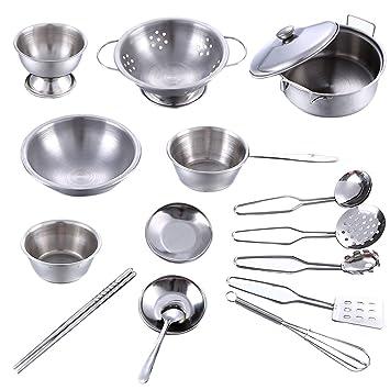 Utensilios cocina acero inoxidable