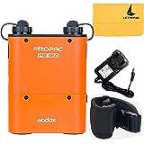 Godox PB960Power-Pack Akku 4.500mAh Orange für Canon Nikon Sony Metz Yongnuo