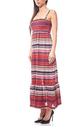 RICK CARDONA by heine Maxikleid Feinstrickkleid Kleid Sommerkleid Kurzgröße  Bunt, Größenauswahl 34 (17 fc710b0d74