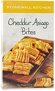 product image for Stonewall Kitchen Cheddar Asiago Bites, 4.5 Ounce Box