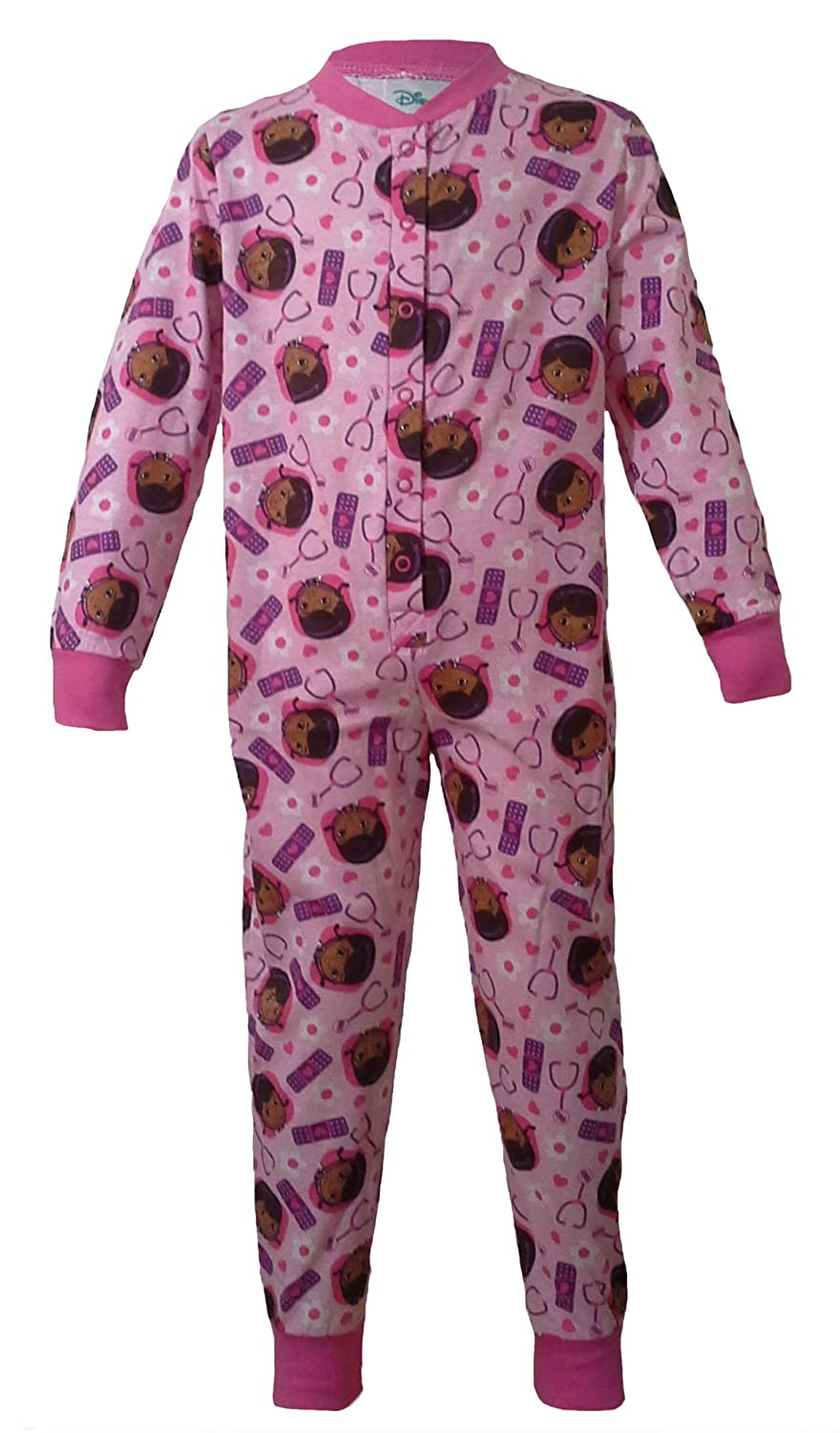 DISNEY ONESIE PYJAMAS SLEEPSUIT - PRINCESS, SOFIA, TINKERBELL, DOC MC STUFFINS - Girls - Cotton - Genuine with Authenticity Tags …