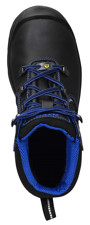 1 34 Elten LENA Chaussures de s/écurit/é Mid ESD Noir//bleu Noir