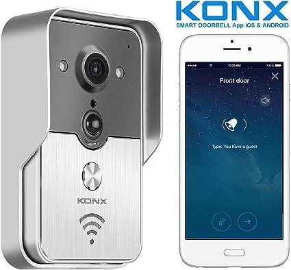 Videoportero conectado KONX KW01 Gen2, 720p; Wi-Fi, Full Duplex ...