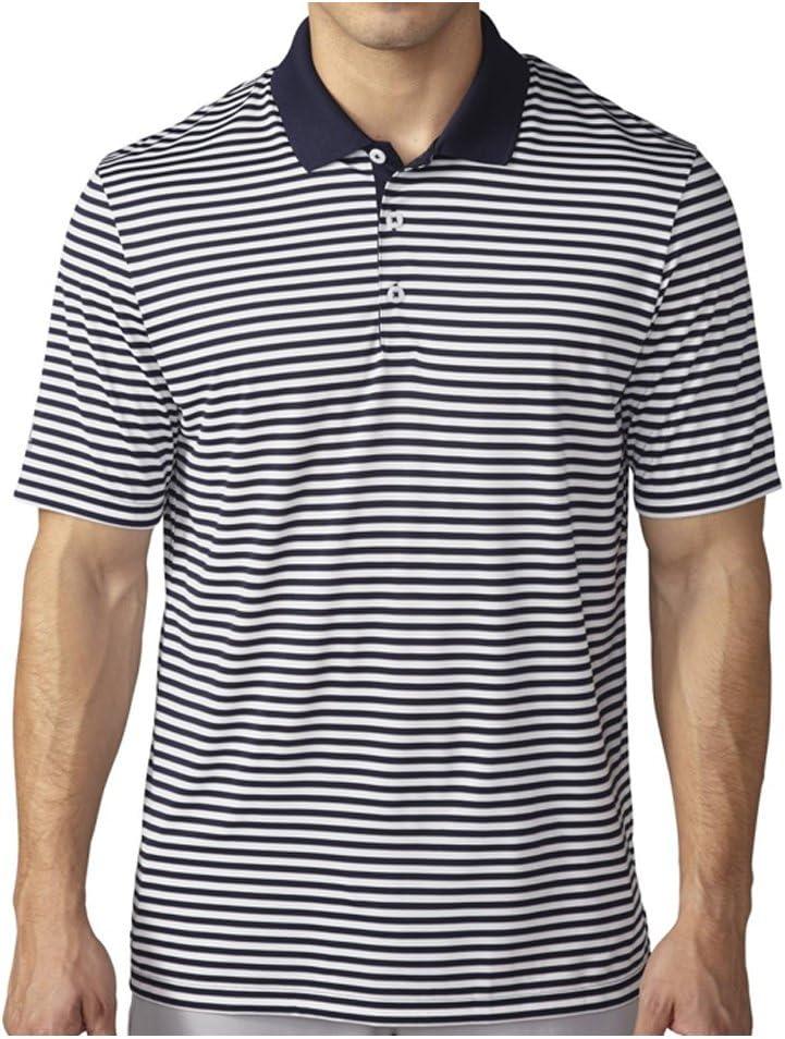 adidas Golf Playera Polo a Rayas de 3 Colores para Hombre: Amazon ...