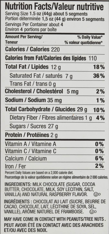 Amazon.com : Ovation Milk Chocolate Raspberry Break-A-Part 6.17 Oz ...
