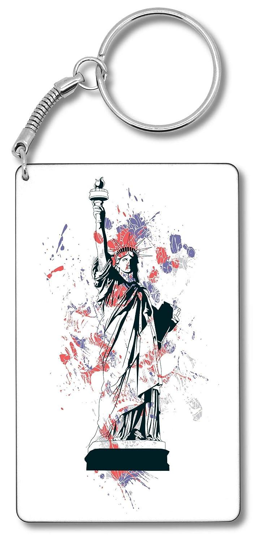 Statue of Liberty New York USA Llavero Llavero: Amazon.es ...