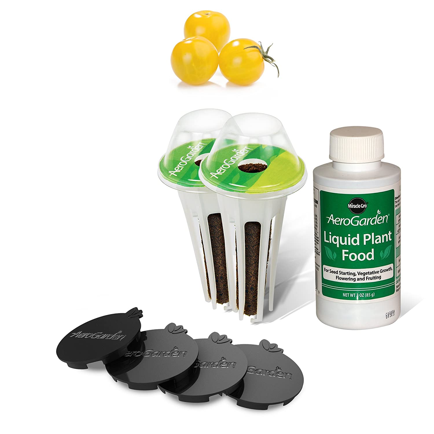 AeroGarden Golden Harvest Cherry Tomato Kit for Harvest & Classic 6 Models 806516-0208