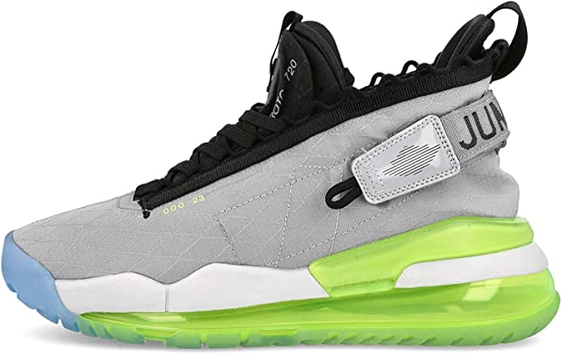 Jordan Men's Proto-Max 720 Wolf Grey/Black-Volt (BQ6623 007) - 10.5