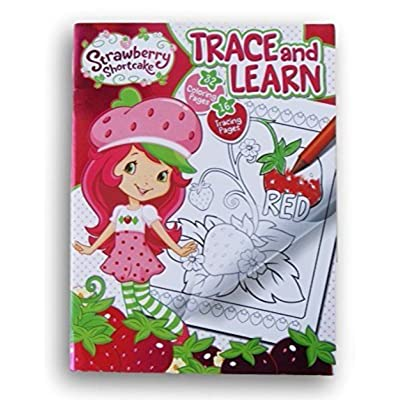 Strawberry Shortcake Trace and Learn Activity Book: Toys & Games