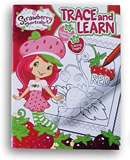 Amazon.com: Strawberry Shortcake Trace And Learn Activity Book: Toys & Games