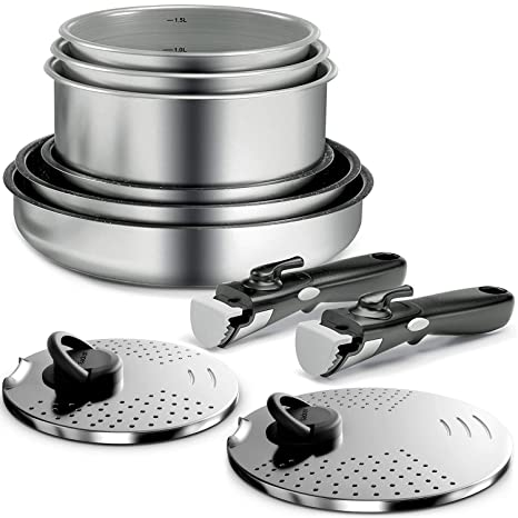 Backen 291099 - Batería de cocina (juego de sartenes y ...