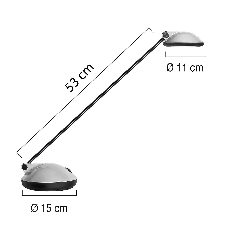 UNILUX Schreibtischlampe Joker 2.0 LED Schreibtischleuchte blau Schreibtisch-Leuchte Lampe Bürolampe Tischlampe Leselampe Leuchte Büroleuchte Schreibtischleuchte LED Tischleuchte Leseleuchte Leselicht blendfrei 5a2725