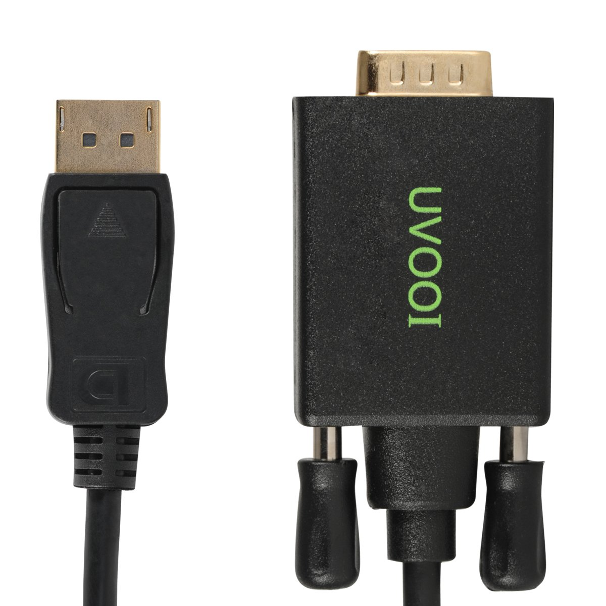 DisplayPort to VGA Cable 15 feet, UVOOI Gold Plated VGA to Display Port DP Cable Adapter Male to Male by UVOOI (Image #5)