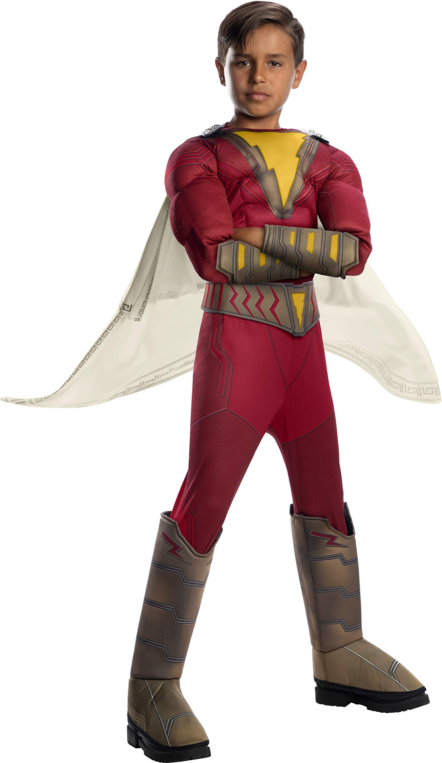 Shazam! Movie Child's Deluxe Shazam Costume, Small