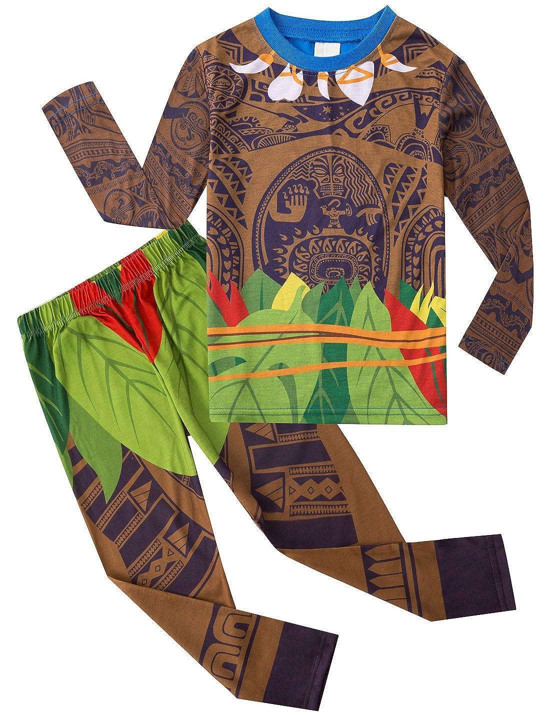 db75609b56c0b AmzBarley Maui Gar ons Pyjamas PJS Ensembles Pour Gar on Enfants Pyjamas  Ages 1-10 Ans  Amazon.fr  Vêtements et accessoires