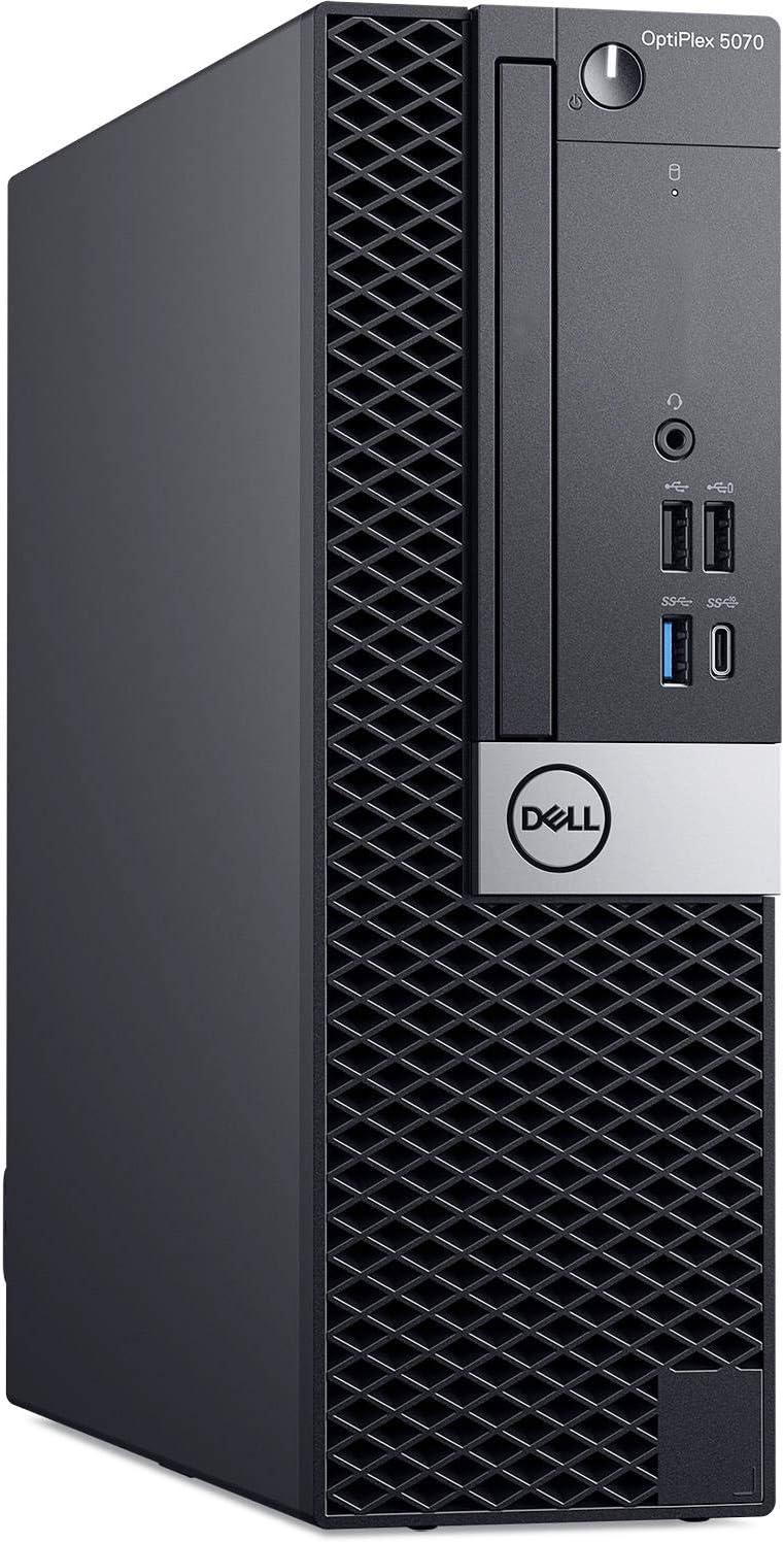 Dell Optiplex 5070 Small Form Desktop, Intel 6-Core i5 9500 3.0Ghz, 16GB DDR4, 1TB NVMe PCIe M.2 SSD, USB Type C, Windows 10 Pro (Renewed)