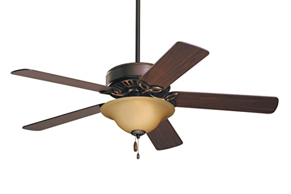 Emerson Ceiling Fans CF712ORB Pro Series Ceiling Fans, Indoor Ceiling Fan with Light, 50-Inch Emerson Fans Blades, Bronze Ceiling Fan with Oil Rubbed Bronze Finish