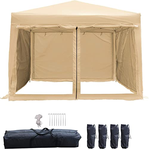 LAZZO 10x10ft Pop up Canopy Tent