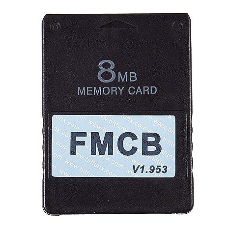 TOOGOO Tarjeta McBoot Gratuita FMCB V1.953 para PS2 ...