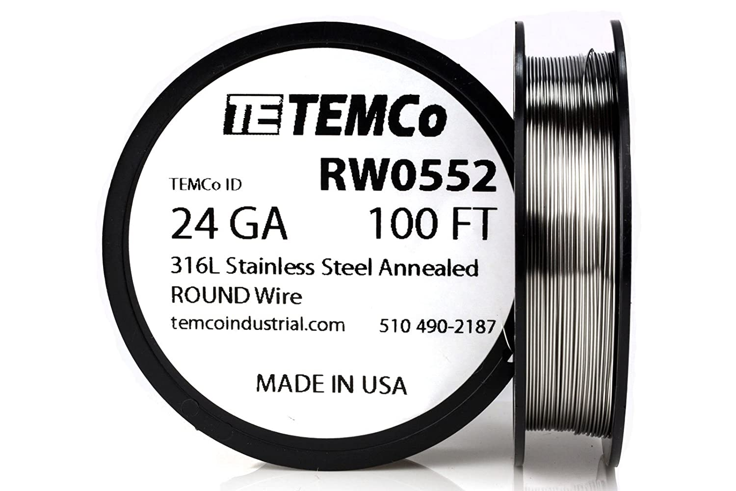 24 awg wire gauge steel new wiring diagram 2018 temco stainless steel wire ss 316l 24 gauge 100 ft non american wire gauge table awg wire area chart awg wire amp chart on 24 awg wire gauge steel keyboard keysfo Choice Image