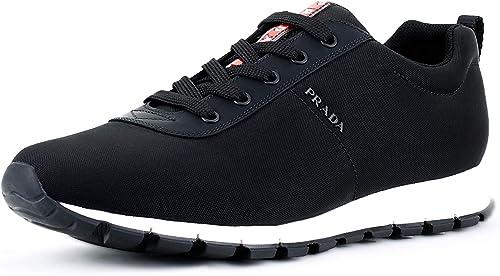 Prada Men's Nylon Tech Trainer Sneaker