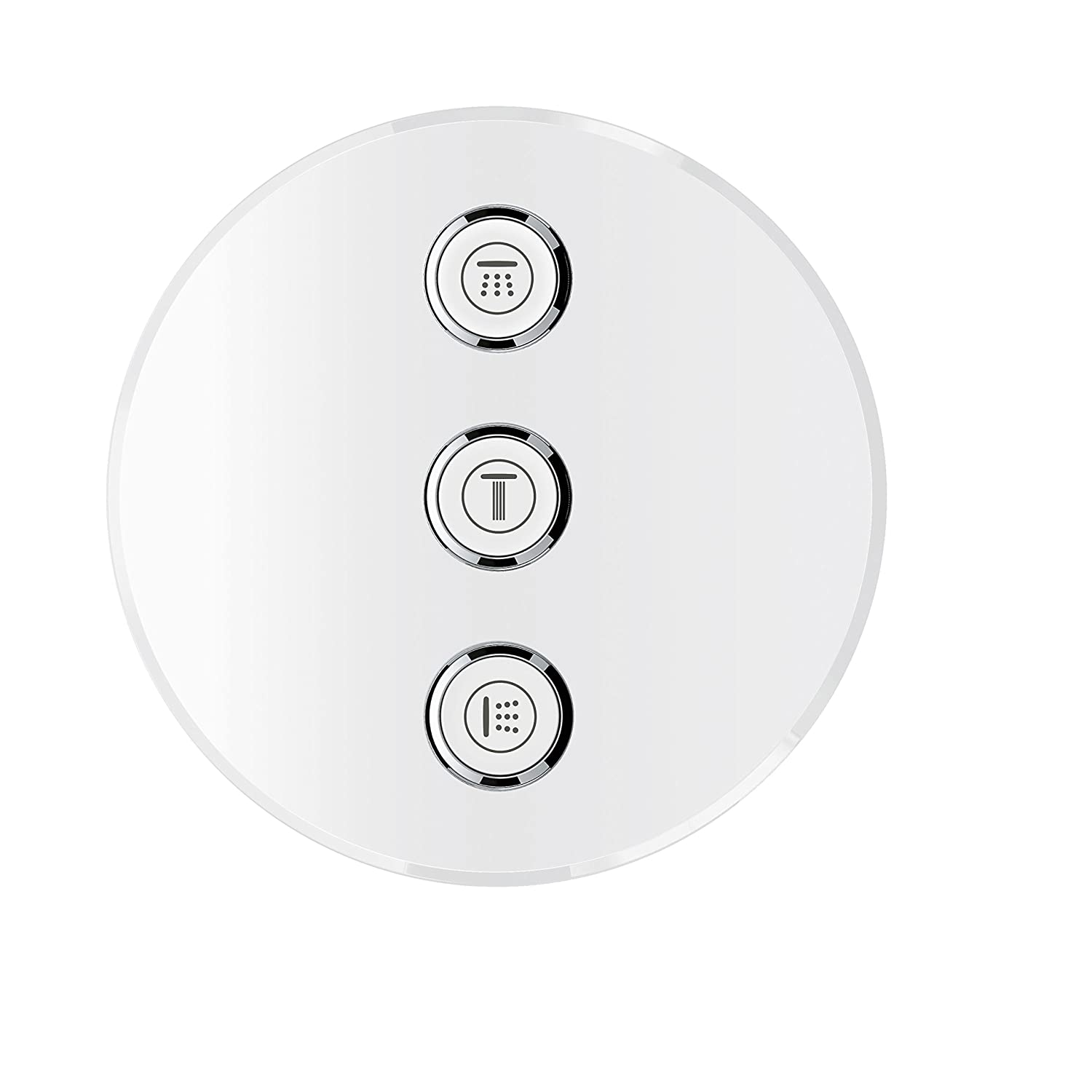 rund supersteel Grohe Grohtherm SmartControl Thermostat with Shut-Off Valve