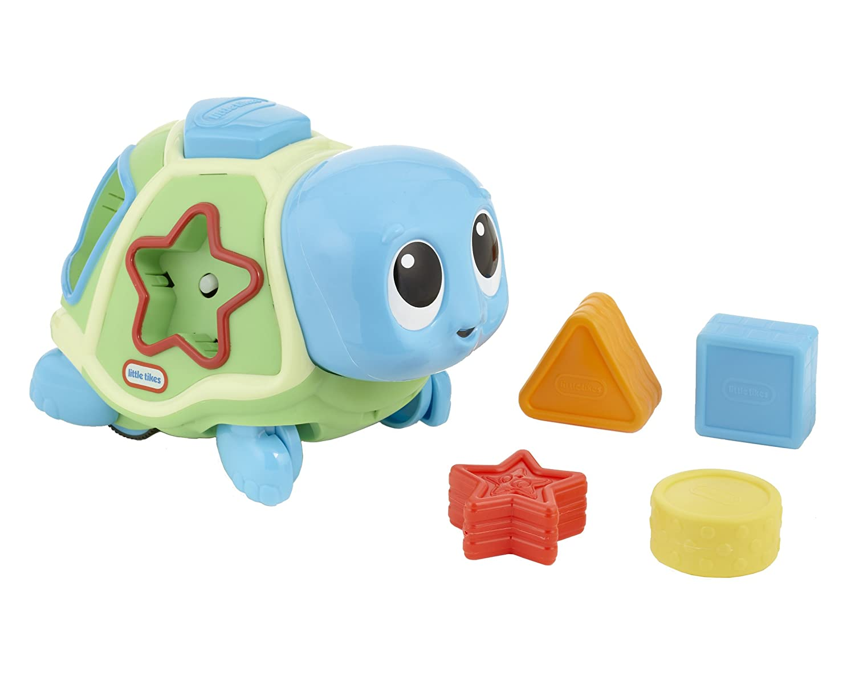 Amazon.com: Little Tikes Lil\' Ocean Explorers - Crawl \'n Pop! Turtle ...