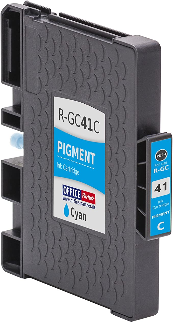 multiPack 4 Cartuchos de tinta compatibles con chip para Ricoh GC ...