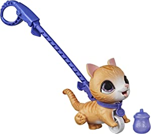furReal Peealots Lil' Wags Tabby Interactive Pet Toy, Ages 4 and Up
