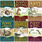 Poppy Tales From Dimwood Complete Collection Books 1 Through 6 (#1 Poppy, #2 Poppy and Rye, #3 Ragweed, #4 Ereth's Birthday,