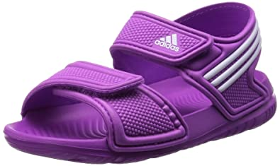 ce32841da000b6 adidas Akwah 9 Infant Toddler Boys Girls Flip Flop Sandal Pink