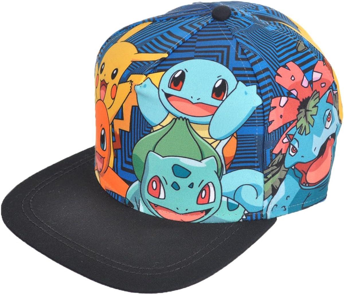 Pokemon Battle Panels Baseball Cap