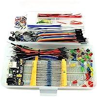 HJ Garden Electronic Component Assorted Kit for Arduino, Raspberry Pi, STM32 etc. 830 Breadboard + Jumper + Power Module…