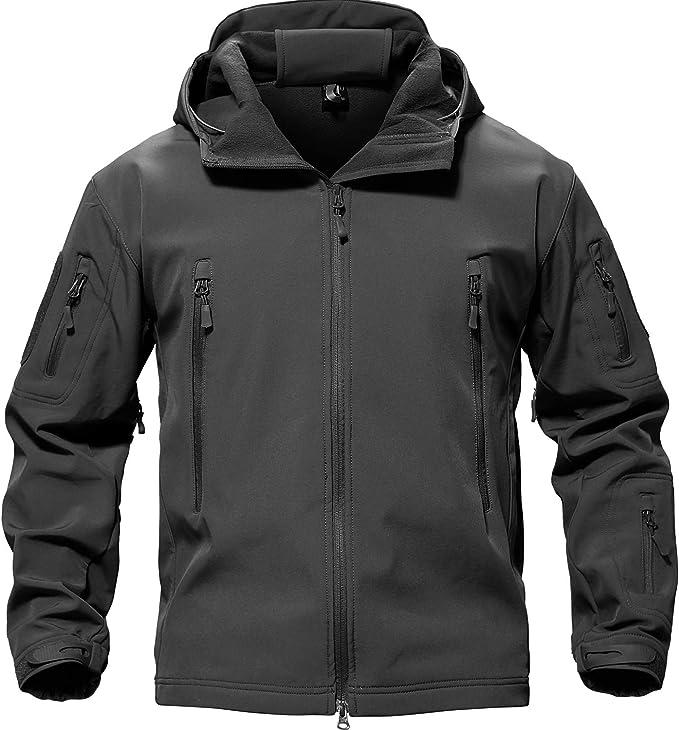Amazon | TACVASEN タクティカル ジャケット ソフト シェル アウトドア ...