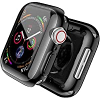 TERSELY[2 Pack] Case Overall Protector for Apple Watch Series 6/SE/5/4 44mm, Full Coverage Protection Bumper All-Around…