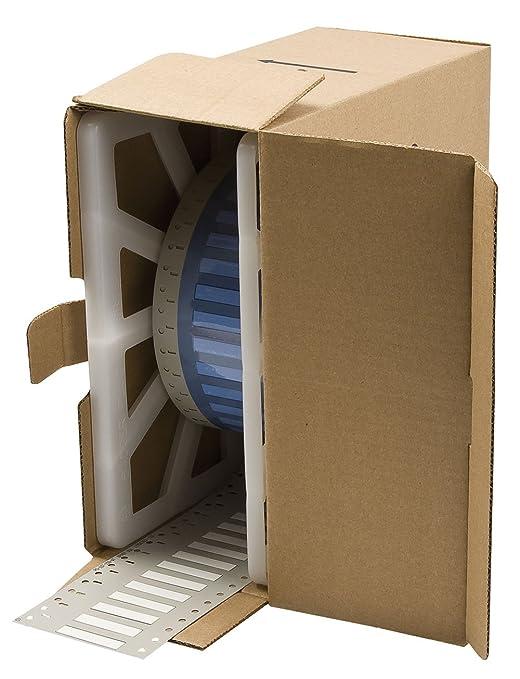 Brady PS-187-150-WT 1.5 Width x 0.335 Height Pack of 2500 B-342 Heat-Shrink Polyolefin Matte Finish White PermaSleeve Wire Marking Sleeve