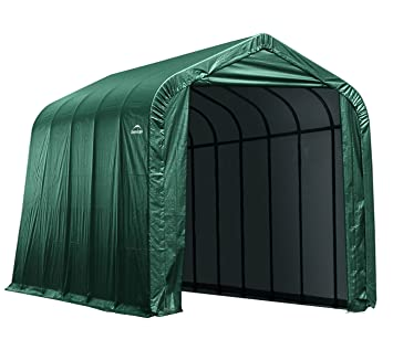 Shelter Logic Protector Garage Garage 2623 M² Green///Car Tent 430 x 610 x 370 cm (W x D x H) All-Purpose Canopy Garage Shed Amazon.co.uk Garden u0026 ...  sc 1 st  Amazon UK & Shelter Logic Protector Garage Garage 2623 M² Green///Car Tent 430 ...