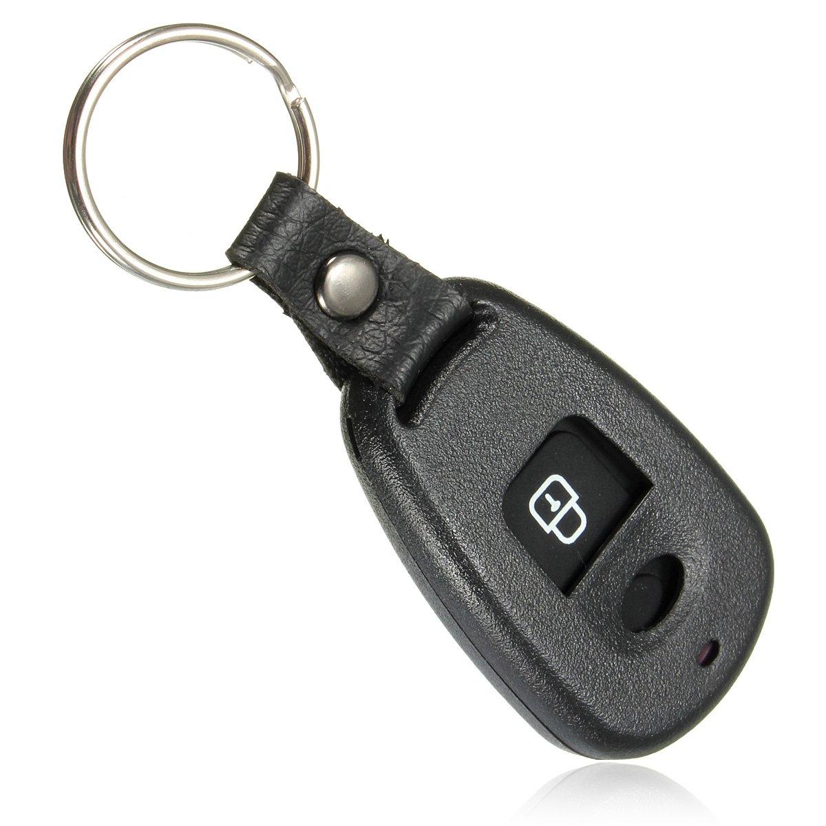 Viviance 2 Botones Remoto Sin Llave Shell Caso Fob para Hyundai Santa Fe Elantra