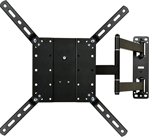 VideoSecu Articulating Full Motion TV Mount Wall Bracket for Most 26 -65 LCD LED Plasma TV Fits VESA 400X400 400×300 400×200 300X300 200X200-88 lbs Load Capacity A47