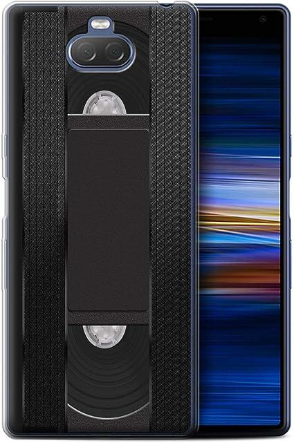 eSwish - Carcasa para teléfono móvil, diseño Retro Cassette Vidéo VHS Sony Xperia 10 2019: Amazon.es: Informática